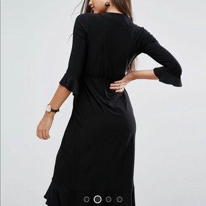 ASOS Dresses - ASOS black wrap dress